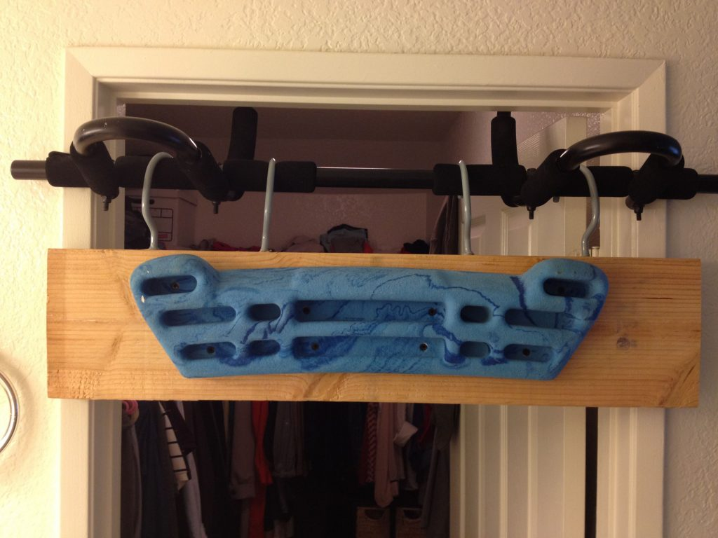 How To Mount a Hangboard Without Drilling